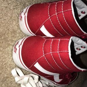 Zapatos Furgonetas Alta Tapas Rojas dpRp26y
